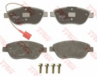 KIT PASTIGLIE FRENO TRW FIAT IDEA (350_) 1.8 Flex 05-10	93313090-7U	82Kw/112Cv