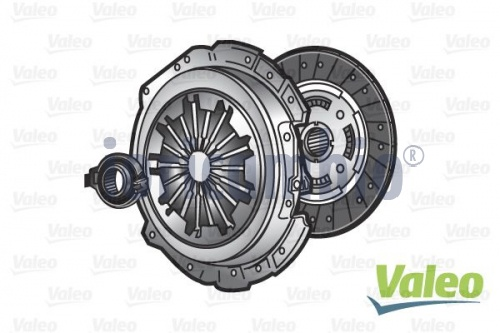 VALEO KIT FRIZIONE  VW GOLF V (1K1) 1.9 TDI 4motion 04-08	BXE	77Kw/105Cv 	1896Cc3	Diesel	2 volumi /